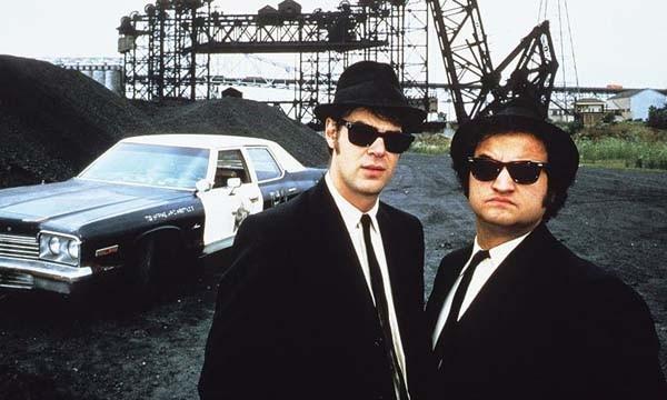 Dan Aykroyd e John Belushi (Foto: .)
