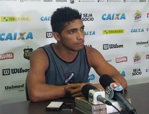 Bismark - atacante do ABC (Foto: Jocaff Souza/GloboEsporte.com)