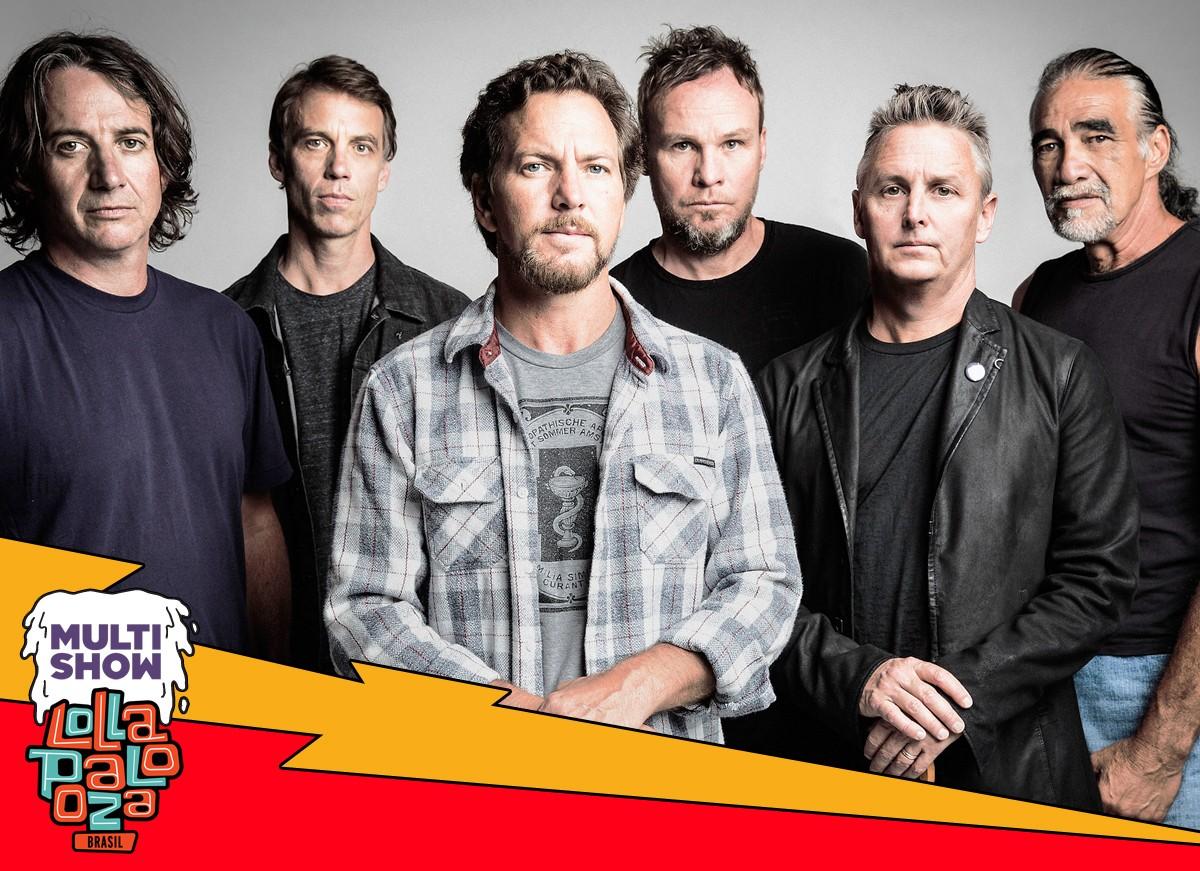 Pearl Jam  uma das bandas mais esperadas do Lollapalooza 2018 (Foto: Divulgao/Multishow)