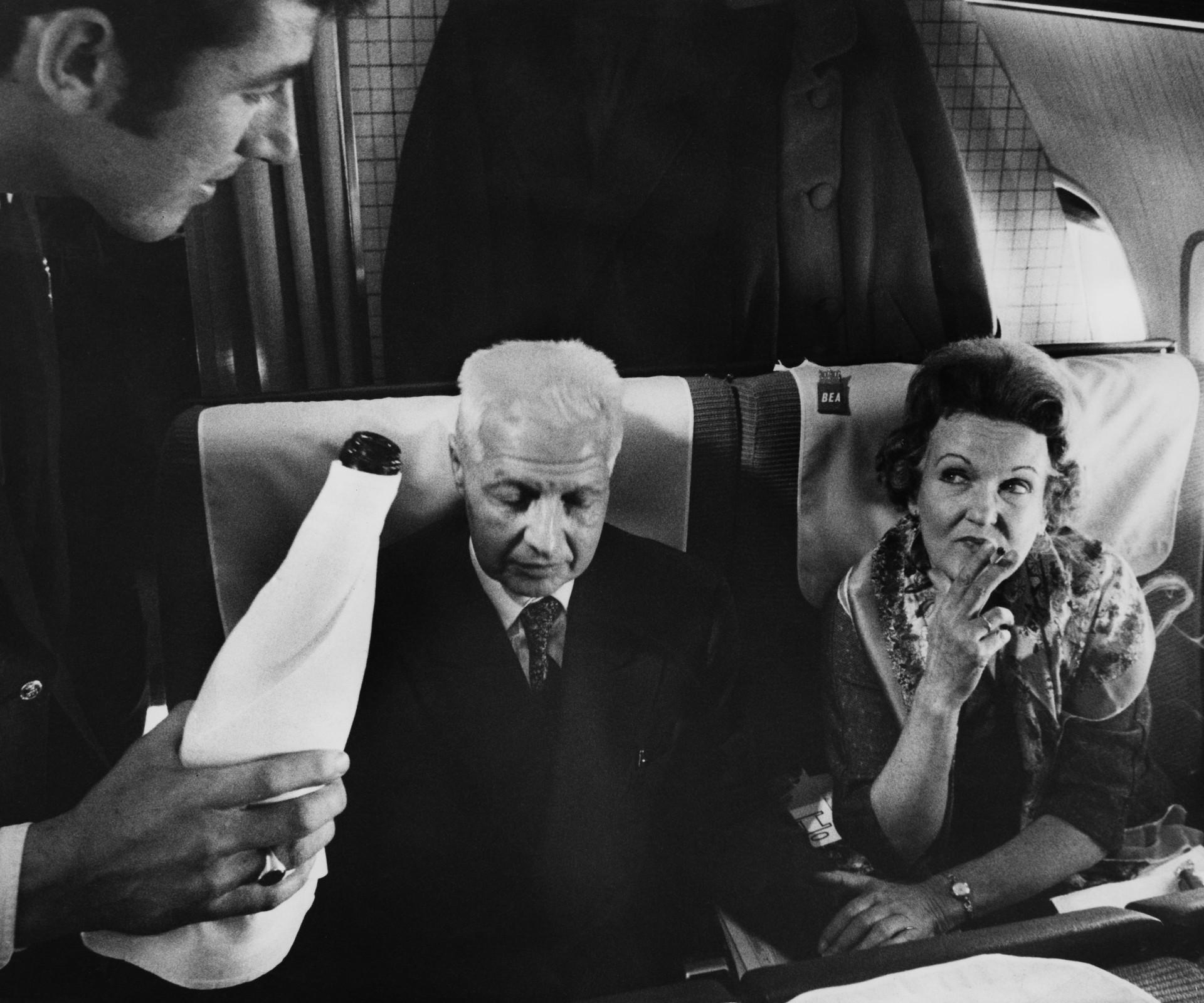 Fumar no avião era permitido