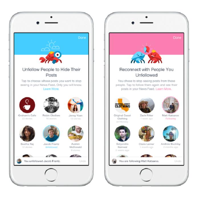 Facebook atualiza ferramenta que permite definir o que você gostaria de ver no feed de notícias (Foto: Divulgação/Facebook)