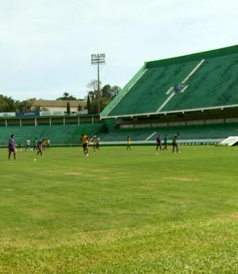 Brinco de Ouro estádio Guarani (Foto: Carlos Velardi / EPTV)