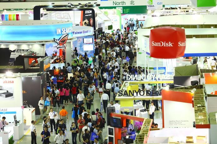 Computex é uma das principais feiras de tecnologia do mundo (Foto: Divulgação/Computex)