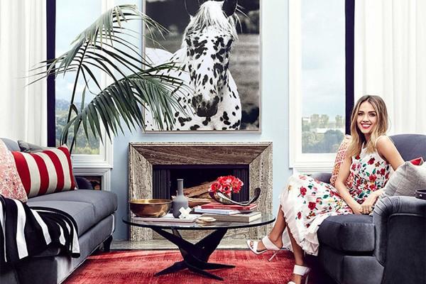 Jessica Alba (Foto: Reprodução/Imobiliária)