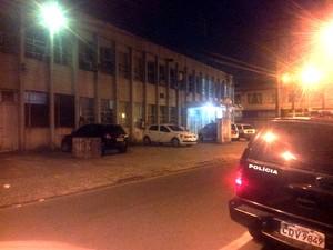 Caso foi registrado no 1° DP de São Vicente (Foto: G1 Santos)