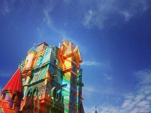 Castelo é ponto de entrada do parque (Foto: Beto Carrero World/Divulgação)