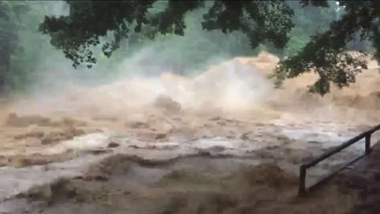 Chuva no ES provoca estragos em mais de 10 municípios