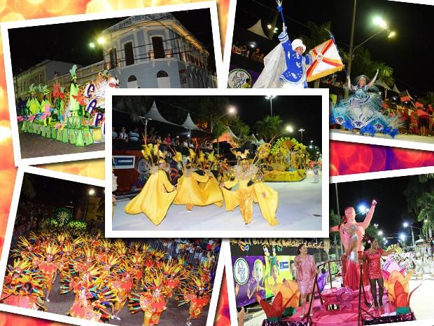 Desfile das escolas de samba de Corumbá (MS) (Foto: Rene Marcio Carneiro)