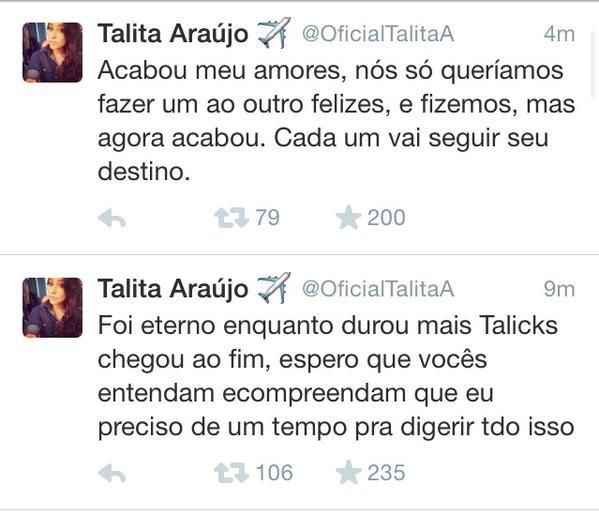 Talita Araújo (Foto: Twitter / Reprodução)
