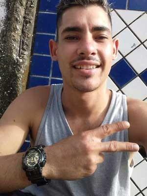 Henrique foi internado no começo de fevereiro (Foto: Fabiana Amaro/Arquivo Pessoal)