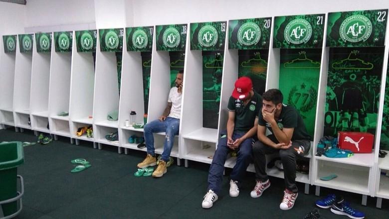 chapecoense-vestiario-futebol (Foto: El Destape/CCommons)