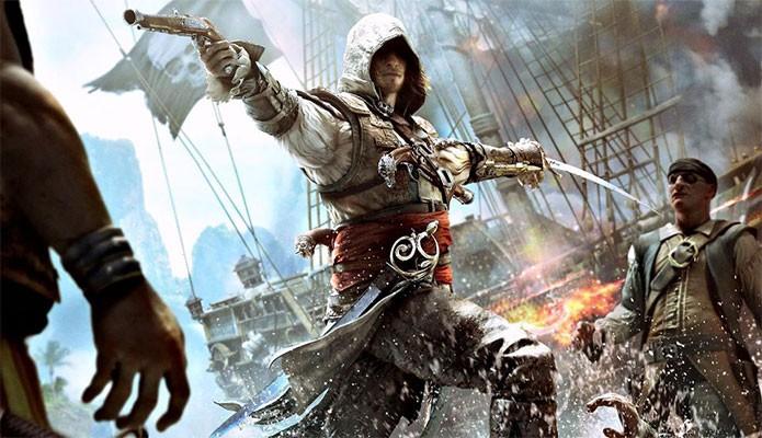 Edward Fenway, de Assassins Creed 4 (Foto: Divulgação)