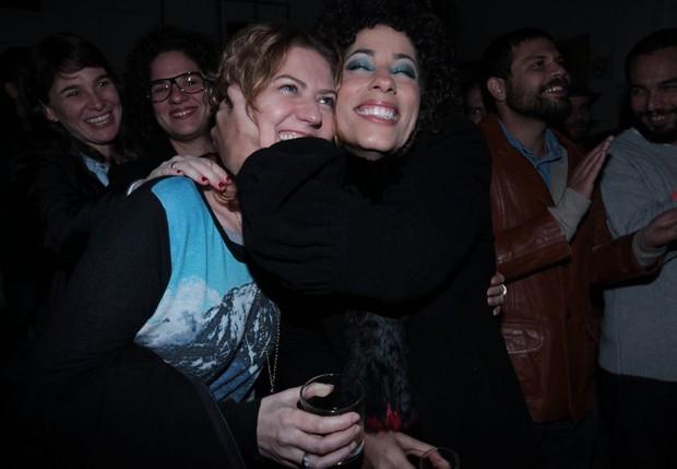 Patrícia Pillar e Márcia Castro (Foto: Leo Franco/AgNews)