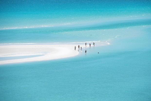 A praia de Betty´s Beach, no arquipélago de Whitsundays, na Austrália (Foto: Lauren Bath/Divulgação)