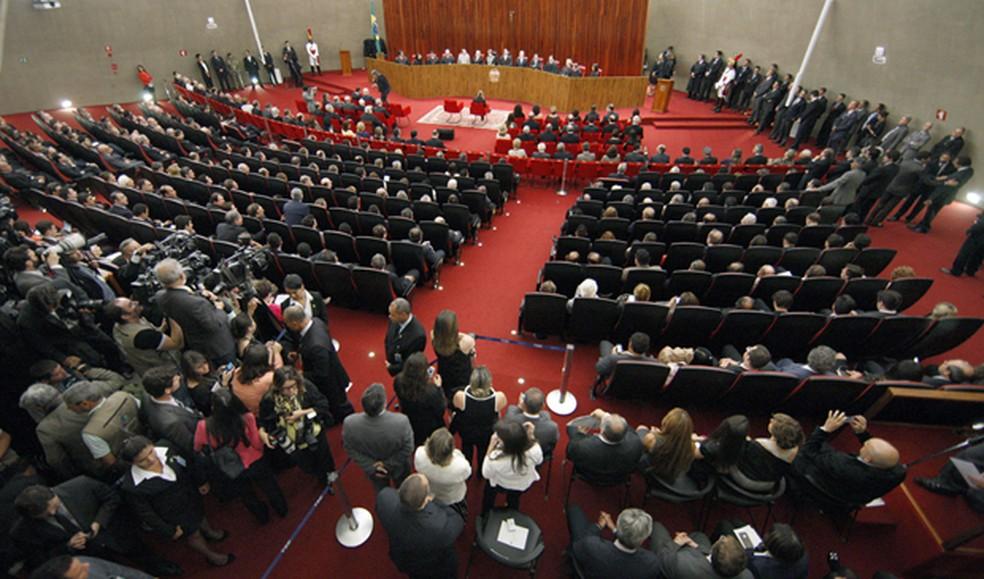 Acesso ao plenário do TSE será disputado a partir desta terça-feira (4) (Foto: Nelson Jr./ASICS/TSE)