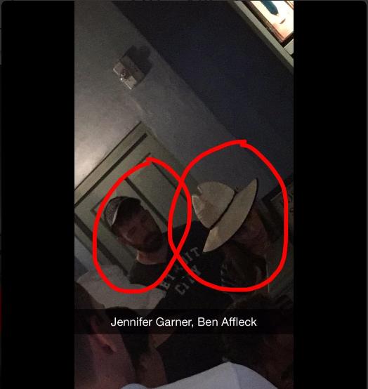 Ben Affleck e Jennifer Garner (Foto: Reprodução/Twitter)