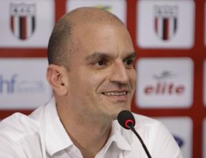 Gustavo Assed, presidente Botafogo-SP (Foto: Rafael Martinez / Agência Botafogo)