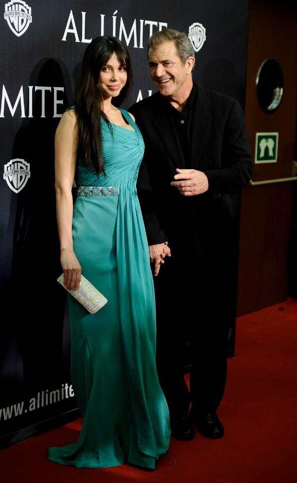 Oksana Grigorieva e Mel Gibson (Foto: Getty Images)