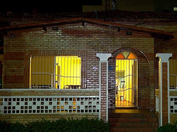 Pizzaria fica na rua Jundiaí, região nobre de Natal (Foto: Reprodução/Inter TV Cabugi)