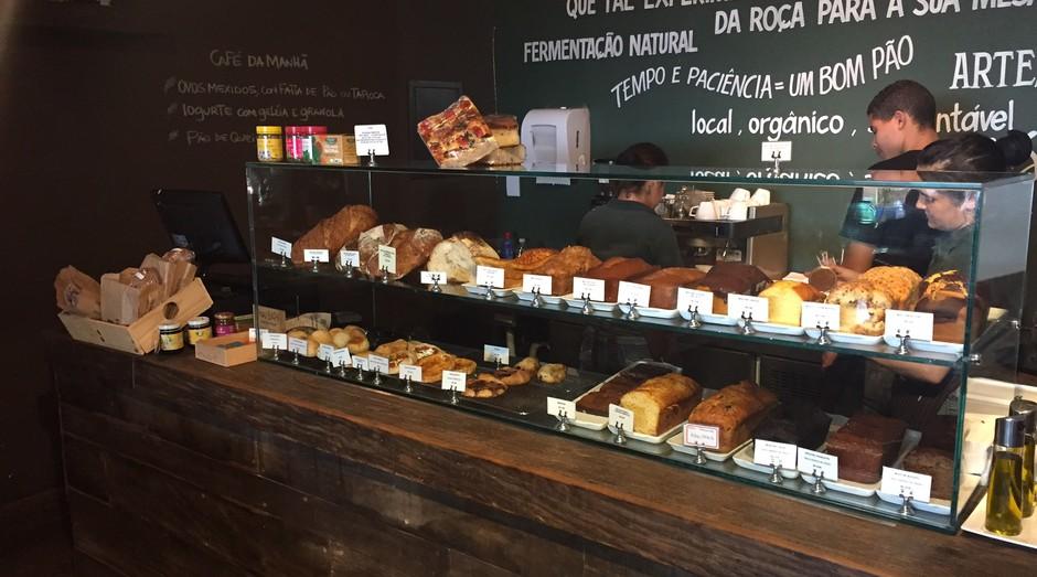 """A Pão Padaria aposta em ingredientes orgânicos e """"da roça"""" (Foto: Divulgação)"""