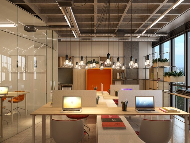 Projeto Open space permite integração das pessoas no ambiente de trabalho (Foto: Divulgação)