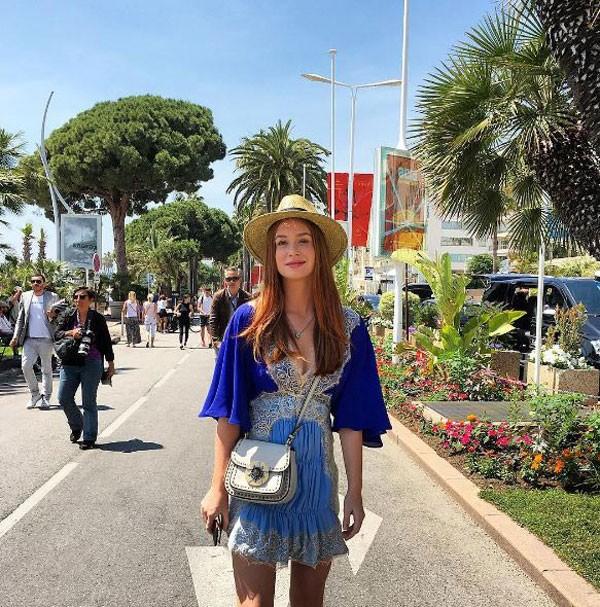 Um visual bem cool para ficar estilosa em Cannes (Foto: Reprodução/Instagram)