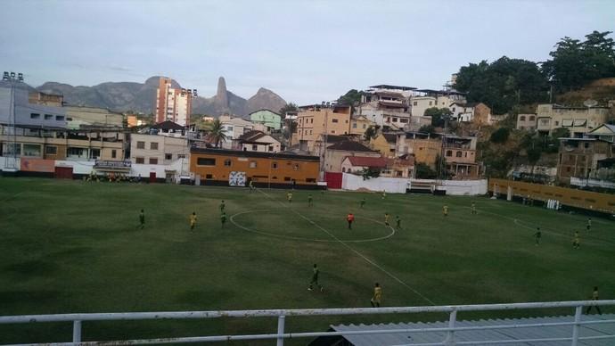 Estádio Sumaré, palco do amistoso deste sábado (Foto: Divulgação/Estrela do Norte)