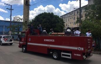 Amigos e familiares se despedem de Sergio Manoel, volante da Chape