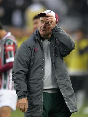 Levir Culpi Corinthians x Fluminense (Foto: Marcos Ribolli/GloboEsporte.com)