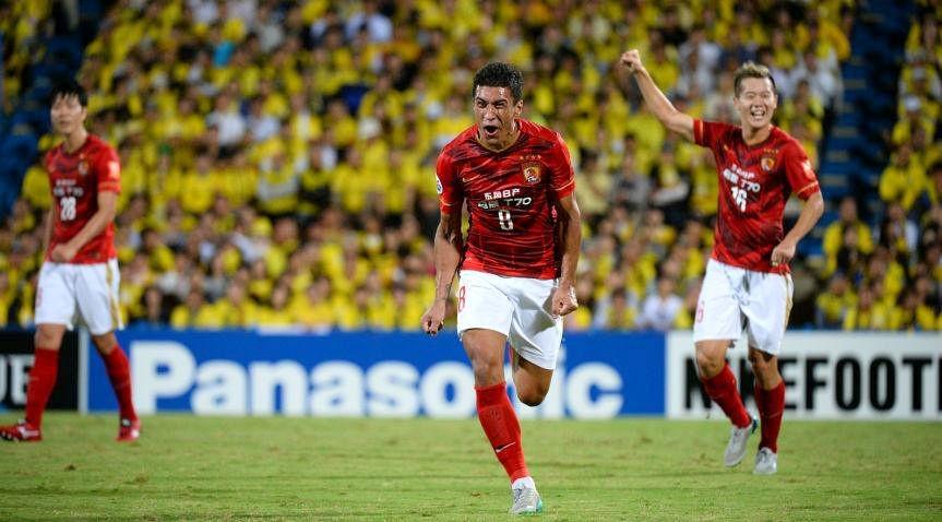 Paulinho, Kashiwa Reysol x Guangzhou Evergrande