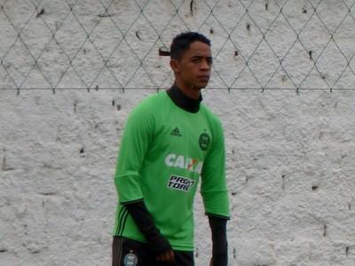 Felipe Amorim coritiba (Foto: Monique Silva)