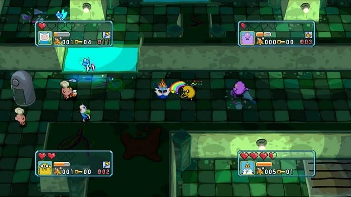 O multiplayer local para até 4 jogadores é um dos destaques de Explore the Dungeon (Foto: Divulgação)