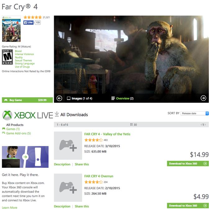 Far Cry 4 (Foto: Reprodução/Xbox Store)