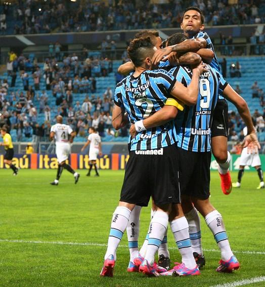 meio time (Lucas Uebel/Grêmio FBPA)