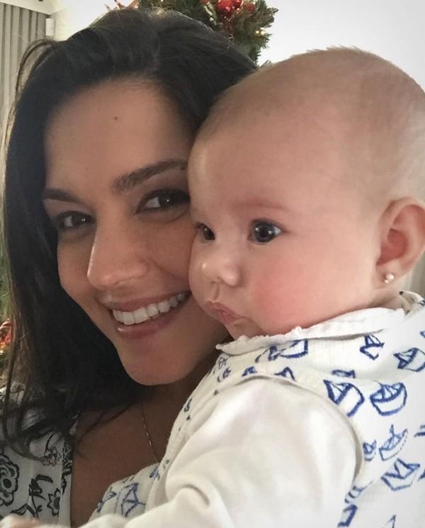 Thais Fersoza e a filha Melinda (Foto: Reprodução / Instagram)