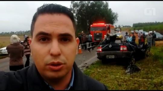 Acidente na PR-182, entre Umuarama e Ivaté, deixa morto e feridos
