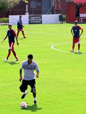 treino do São Paulo Copinha (Foto: Marcelo Prado)