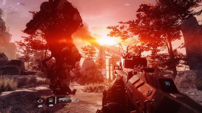 Titanfall 2 traz visual incrível e level design impecável (Foto: Reprodução/Victor Teixeira)