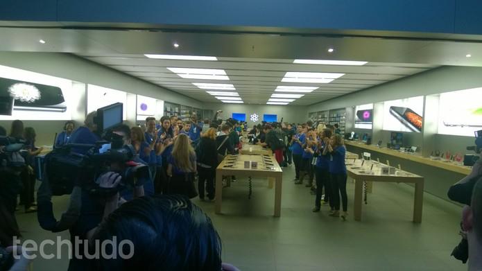 iPhone 6 começa a ser vendido em alguns países (Foto: Elson de Souza/TechTudo)