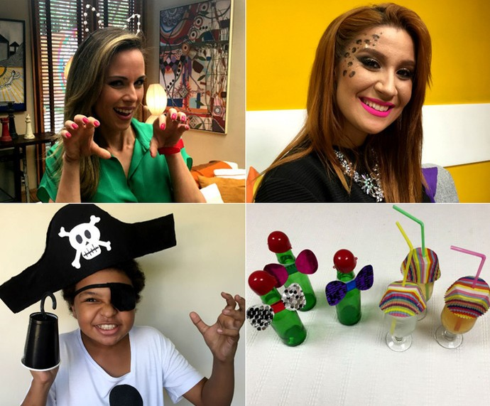 Confira todas as dicas de Carnaval do Faça em casa  (Foto: Gshow)