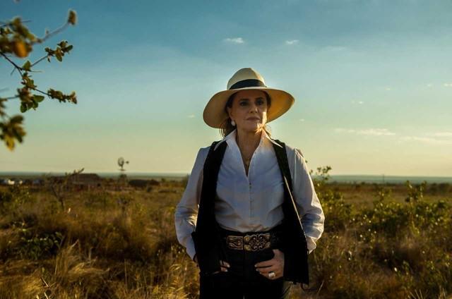 Marieta Severo grava 'O outro lado do paraíso' (Foto: Globo/Raquel Cunha)