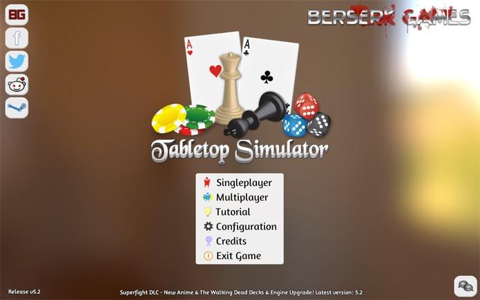 Tabletop Simulator (Foto: Reprodução/Felipe Vinha)