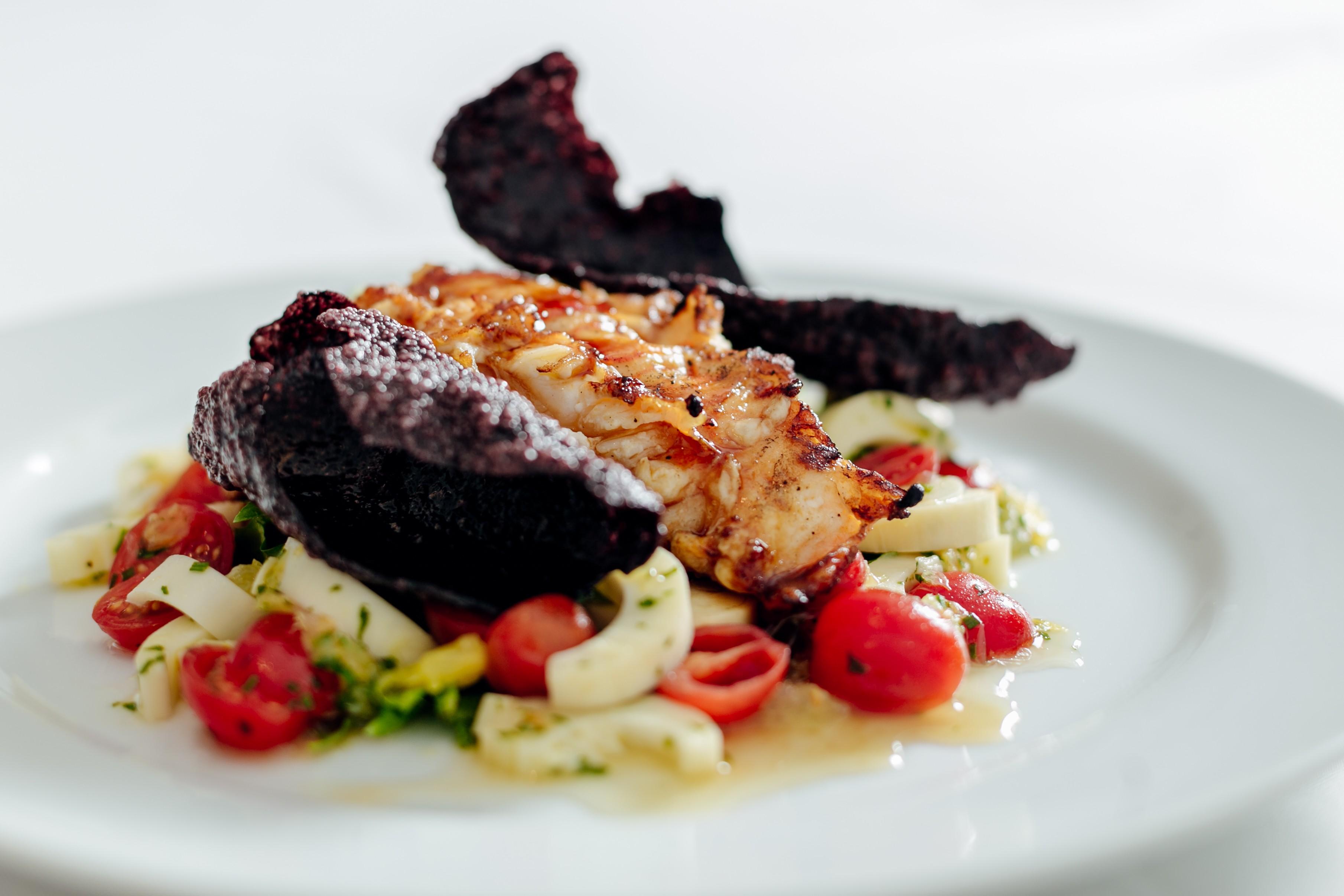 O novo menu do Bagatelle Rio: aprenda a receita da  Salade de Cigale de Mer  (Foto: Divulgação)