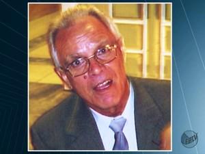O aposentado Jorge Bento Soares desapareceu no dia 5 de setembro em Rio Claro (Foto: Reprodução/EPTV)