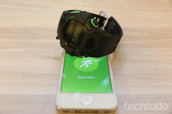 Nabu Watch (Foto: Isabela Giantomaso/TechTudo)