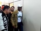 Ator Danny Glover participa de ato em defesa de Dilma Rousseff em BH