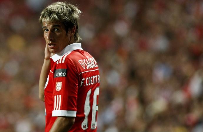 Fábio Coentrão no Benfica (Foto: Getty Images)
