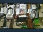 Polícia Militar detém 2 homens com 8 armas e munições em Piracicaba, SP