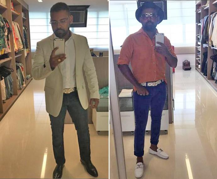 Pablo costuma postar fotos dos looks dele nas redes sociais (Foto: Arquivo Pessoal)