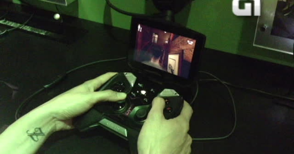 G1 testou: Shield é joystick que roda games de PC e de Android
